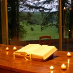 Bible au carmel de la Fontaine OLive
