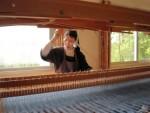 Atelier de tissage au Carmel